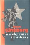 Neposílejte mi už žádné dopisy - Allen Ginsberg